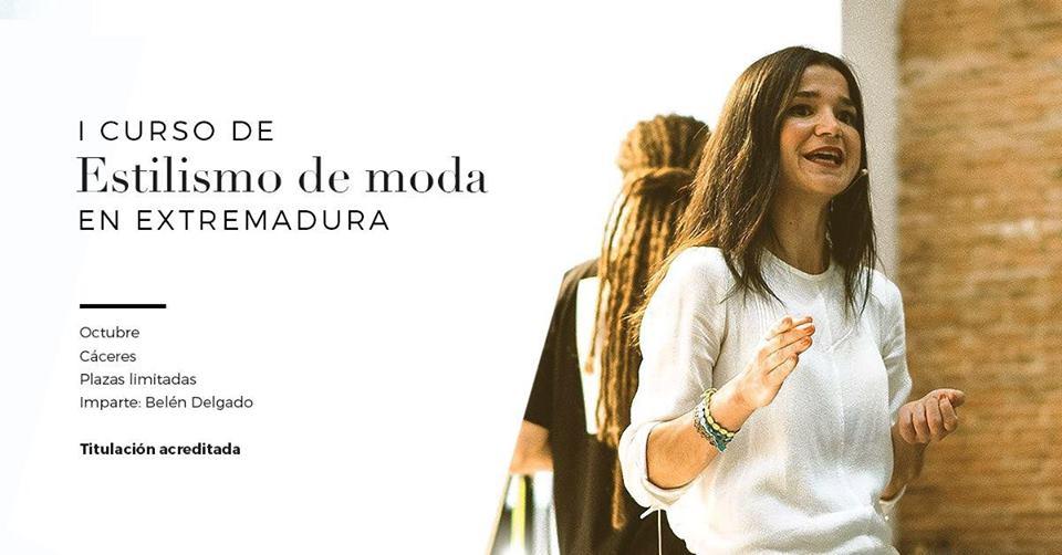 Primer curso de Estilismo de moda en Extremadura