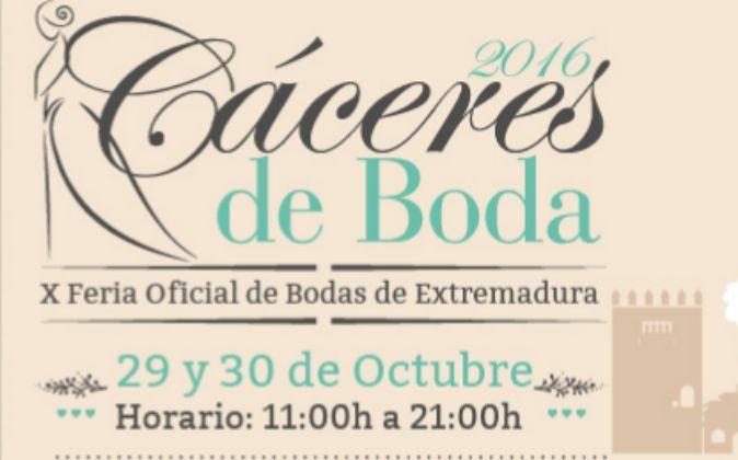 Feria CÁCERES DE BODA – 29-30 octubre 2016