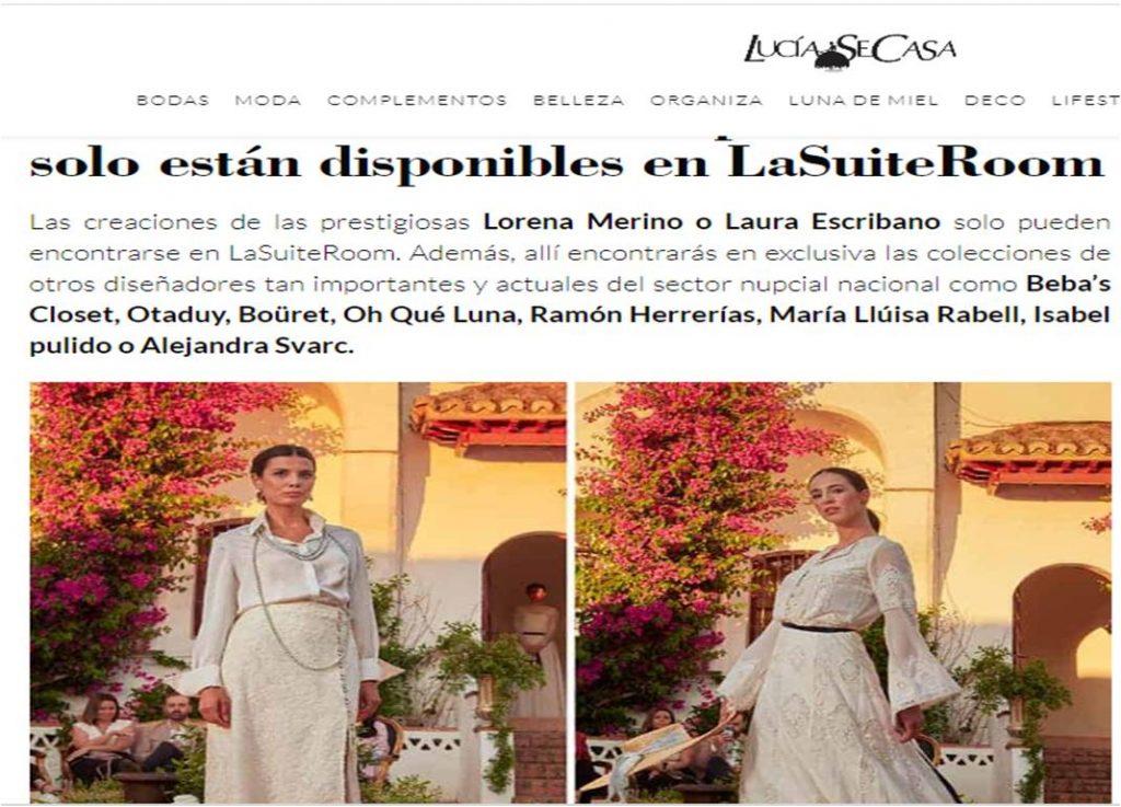 Vestidos de novia Exclusivos en Extremadura, LaSuiteRoom