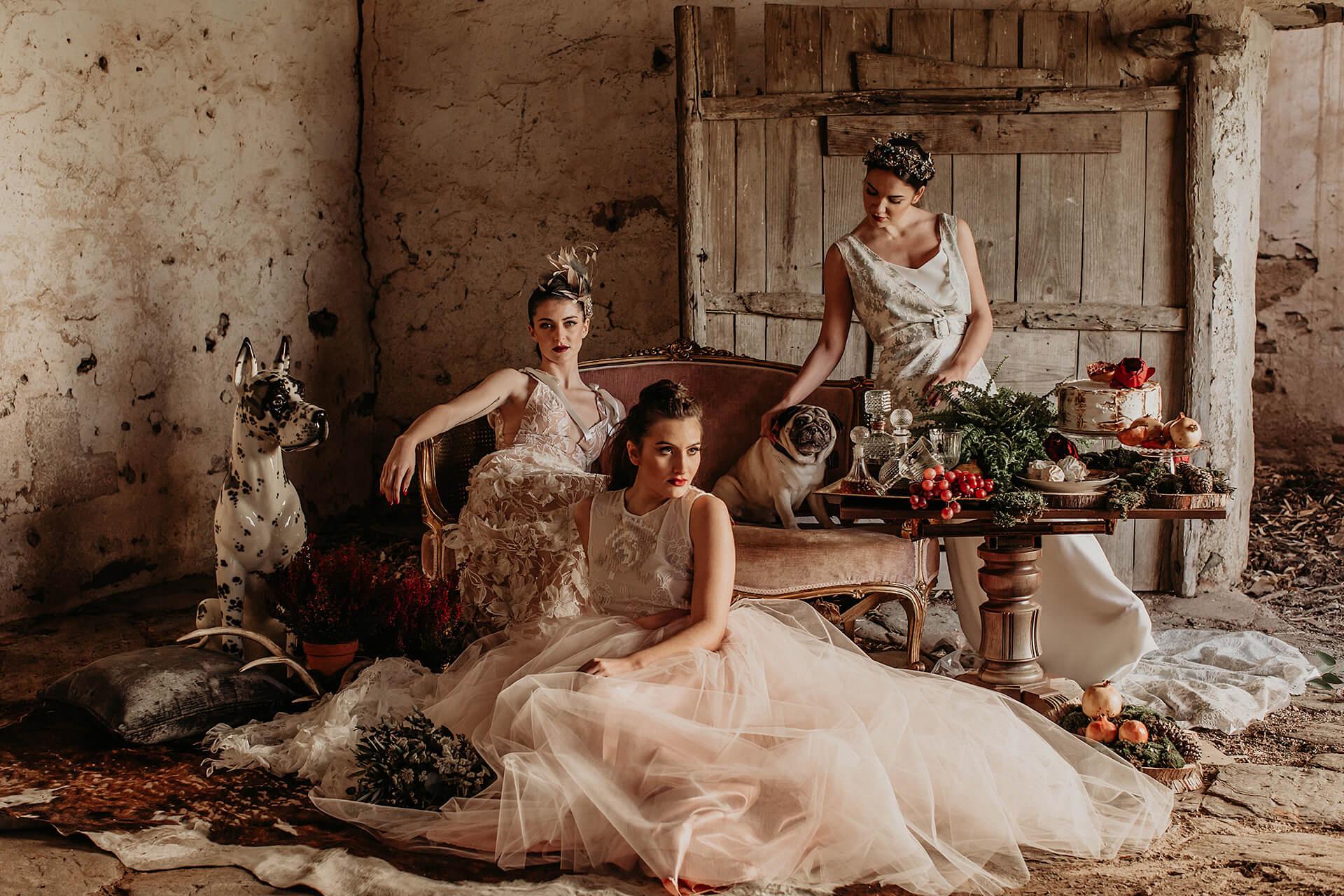 exclusivos bonitos vestidos de novia Extremadura Castilla León Sevilla